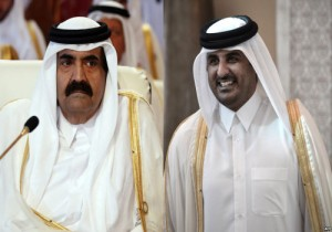 amir-qatar-and-his-father1